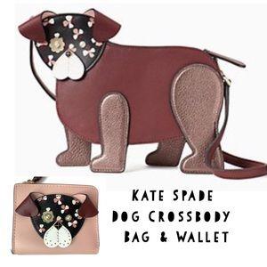 Kate Spade Dog 🐶 Crossbody Bag and Wallet Set